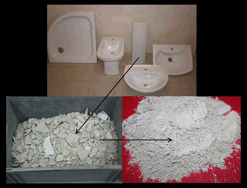 La tecnología permite reutilizar los residuos con material a base de arcilla de al menos 20% para obtener el cemento.