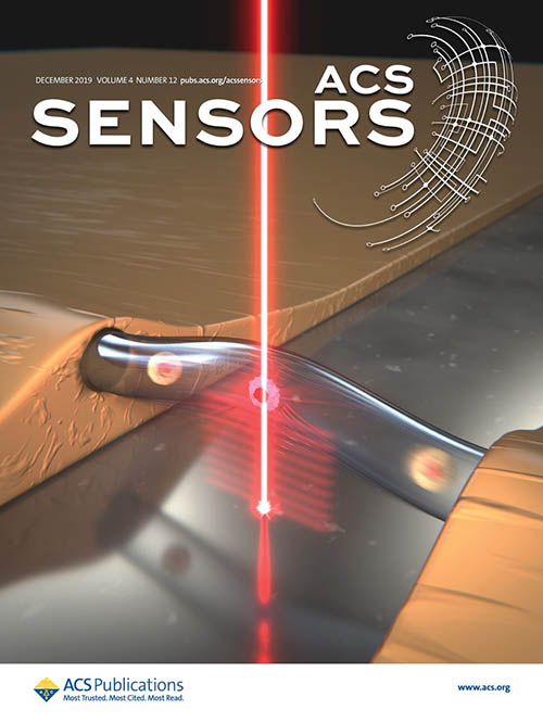 The work featured on the ACS sensors cover.