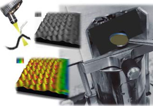 Atomic-force microscopy (AFM) can 'observe' the characteristics of materials at the nanoscale.