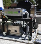 Mobile unit to measure emissions of nanoparticles from building materials