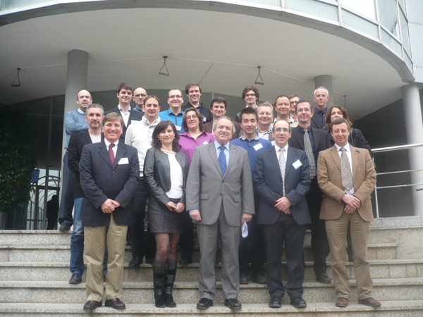 All the participants in the LIA Wide Lab workshop, in Barcelona.